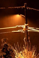 scène de nuit (GastonGraphy) Tags: nuit night snow pluie rain nature meteo outdoor neige