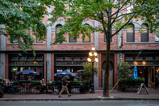 Street of Gastown, Vancouver, Canada