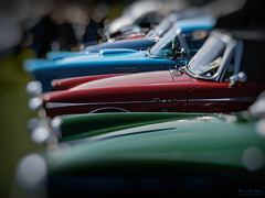 colorful oldies (Nils Hempel   Photography) Tags: oldtimer youngtimer cars classiccars colors red green blue bokeh chrome details power colorful