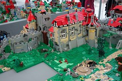 BB17_Burgviii (Zeï'Cygaïn) Tags: lego classic castle puzzling scapes pcs brickingbavaria 2017