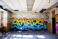 SMORE - MUL (virgilvanburen) Tags: urban exploration urbex rurex chicago illinois abandoned abandoment bando decay grime photography photo pics pic graffiti graff coh cohcrew vandal vandalism vandals time dilapidated