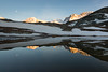 Summit Meeting #2 (Nicolas Gailland) Tags: landscape nature paysage montagne mountain lac lake water eau sunset coucherdesoleil colors couleurs riffelsee zermatt suisse schweiz switzerland matterhorn cervin liskamm breithorn castor pollux moon lune canon hitech filter nd gnd mark