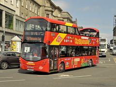 SJ16CTE Lothian 228 (martin 65) Tags: wrightbus opentop edinburgh city road transport public lothian scottish scotland gemini vehicle bus buses