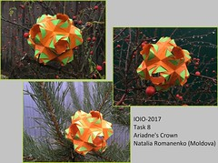 8.russia-(aleksandr_timoshik)_kusudama (shooroop83) Tags: ioio2017 ioio origami kusudama ariadnes crown romanenko