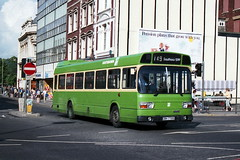 Southdown 770 870905 Portsmouth [jg] (maljoe) Tags: southdown nationalbuscompany nbc leylandnational leyland