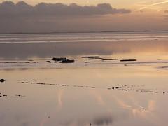 Dollard Bay sunset time (achatphoenix) Tags: rheiderland ostfriesland roadtrip rural december dezember sunset sun eastfrisia dollart dollard dollartbay gegenlicht sky clouds nuages ciel cielo wolken sonnenuntergang inexplore