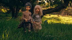 (mimiau_m) Tags: bjd kid lonnie asian doll forest outdoors recast