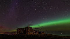 Downhill castle ruins and the Aurora (jac.photography49) Tags: