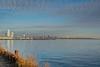 PetroleumPier (jmishefske) Tags: december nikon lakefront pier water milwaukee shore jonesisland dock d7100 petroleum wisconsin sky clouds 2017 gas downtown lakemichigan