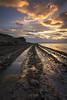 El Madero. (Saavedra Ruiz) Tags: cantabria spain liencres sunset
