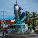 2017 - Mexico - Barra de Navidad - Sailfish Sculpture
