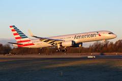 N190AA_MAN_301117_KN_220 (JakTrax@MAN) Tags: aa american airlines boeing 757 75w 757200 b757 b757200 n190aa manchester man egcc runway 05r ringway airport