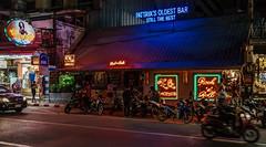 Streetphoto in Pattaya, after dark (jhemmingsen65) Tags: beachroad pattaya chonburi thailand tahitianqueen bar