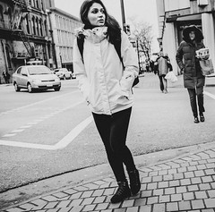 Street (Photo Alan) Tags: read people blackwhite blackandwhite missing woman candid street streetphotography streetpeople outdoor
