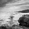 The power of water (hjuengst) Tags: indianocean wave rocks southafrica arniston coastline shore blackandwhite schwarzweis waenhuiskrans westerncape