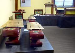 Gamelan instruments collection, Schubert club museum, Landmark Center, Saint Paul (ali eminov) Tags: saintpaul minnesota landmarkcenter museums schubertclubmuseum musicalinstruments gamelan