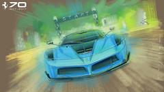 F FXXK s (Stefan Marjoram) Tags: sketch drawing ipad pro procreate apple pencil car vintage racing plein air
