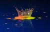 Royal Crown (jeff's pixels) Tags: crown waterdrops water collision macro highspeed image paint splash drop