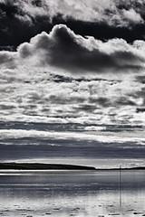 Clouds Across The Water (Andi Hardman) Tags: cloudsacrossthewater cloud clouds sea landscape seascape reflection horizon land bannowbay wellingtonbridge cowexford ireland