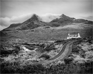 Allt Dearg Cottage, Sligachan, Skye.