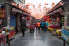 The Streets of Xian (virtualwayfarer) Tags: shopping shoppingdistrict xian china beijing asia xianprovince street streetphotography travel travelphotography fortification exploring flags flag canon exploringchina canon6d silkroad ancientcapital formercapital