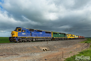 C504, C506, GM27 & GM22 with the SSR 7974V up Murtoa grain