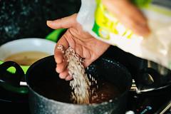 making arroz de polvo (octopus rice) (Gail at Large | Image Legacy) Tags: 2017 casaaguiar maia portugal portuguesekitchen arrozdepolvo gailatlargecom makingoctopusrice octopusrice