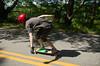 Setting up for a turn (davegammon.media) Tags: downhill downhillskate downhillskateboarding longboard longboarding nylongboarding dh skateboard skateboarding skater skateny rider team action sport street road sesh rayne