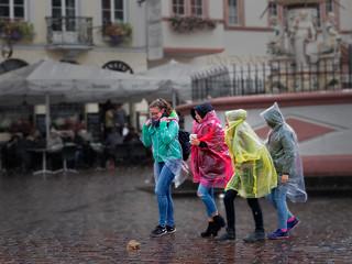 Colours of Rain I