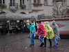 Colours of Rain I (Elenovela) Tags: regen rain city street stadt people regencape regenponcho raincape colours farben trier germany herbst autumn olympusomdem1markii olympuszuiko1435mmf20 elenovela karstenmüller