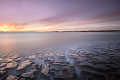 A Dream for the Broken and Lost (johnkaysleftleg) Tags: lownewton jigsawrocks northumberlandcoast northumbria northeast england le 10stopfilter nd3 ndhardgrad06 canon760d sigma1020mmf456exdchsm dunstanburghcastle morning sunrise