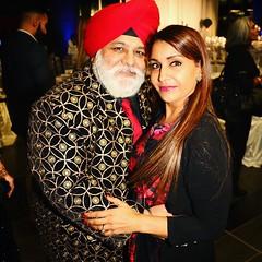 The strikingly fashionable @drbhurji and wife @visaffcanada gala #visaff2017 #visaff #surreybc #surrey604