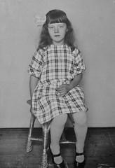 The Kid (Ken-Zan) Tags: girl kid scanned vintage ljunghav kenzan