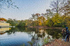 1338__0644FLOP (davidben33) Tags: brooklyn 718 ny quotnew yorkquot quotprospect parkquot autumn 2017 fall trees bushes leaves lake pets gooses ducks water sky clouds colors yellow green blue people quotstreet photosquot