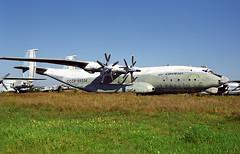 CCCP-09334 - Monino Museum 20.08.2001 (Jakob_DK) Tags: cccp09334 an22 antonov antonov22 antonovan22 cargo monino centralrussianairforcemuseum sovietairforce aeroflot 2001