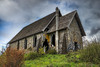 OLD STONE BUTTER CHURCH (Sandy Hill :-)) Tags: church stonebuildings stonechurches butterchurch oldstonebutterchurch cowichanvalley natives vancouverisland sandyhillphotography hill grafiti old antique structure haunted