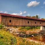 Jay Bridge - Wooden Covered Bridge - Essex County  - Historic thumbnail