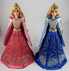 Harrods Aurora 17'' Doll Gift Set - LE 100 - UK Disney Store at Harrods - Deboxed - Standing Side By Side - Full Front View (drj1828) Tags: uk harrods aurora pink blue 17inch limitededition le100 purchase deboxed sidebyside standing