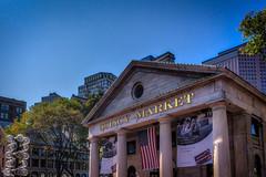 Quincy Market (Kev Walker ¦ 7 Million Views..Thank You) Tags: americanrevolution architecture boston building canon1855mm canon700d city citycentre digitalart freedomtrail hdr historic massachusetts usa unitedstates