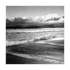 Harris (osh rees) Tags: film landscape sea harris scotland weather medium format rangefinder fuji gf670 ilford fp4 scan epson v500