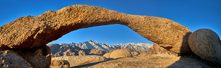 Lathe Arch - Alabama Hills, Califormia