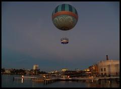Going Up! (Dusty_73) Tags: balloon helium giant walt disney world springs orlando florida fl usa waterfront evening