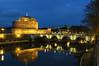 Castel Sant'Angelo (Andreas Laimer) Tags: roma italia castelli colori castello ponti fiume tevere notte notturna nex6 sony zeiss 24mm f18 treppiede