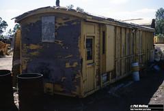 2879 Z40820 Salvage Yard area Midland Workshops 14 March 1982 (RailWA) Tags: railwa philmelling westrail 1982 z40820 salvage yard area midland workshops