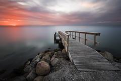 The Danish Pier (Tony N.) Tags: danemark juelsminde pier ponton sea mer sunrise levant leverdesoleil matin morning poselongue longexposure vanguard d810 nikon nikkor1635f4 tonyn tonynunkovics