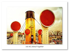 We All Stand Together (Oul Gundog) Tags: we all stand together belfast northern ireland nomadic titanic shipyard harland wolf ulster