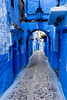 The Blue Line (A Camera Story) Tags: africa morocco chefchaouen medina blue blueline riad morning empty alley sonydslta99 sony2470mmf28cz
