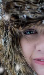 Self portrait (alessiabraghieri93) Tags: 350mmf18 photography selfportrait ritratto art portrait effects blueeyes eyes snow winter 35mm nikkor35mm nikkor d7100 nikond7100 nikon