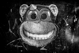 monkey face graffiti