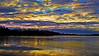 L👀K - Winter Reflections (Bob's Digital Eye) Tags: 2017 bobsdigitaleye canon canonefs1855mmf3556isll clouds dramaticskies flicker flickr frozenlake ice laquintaessenza lakesunsets lakescape landscape november reflections sky t3i winter yellow sunset